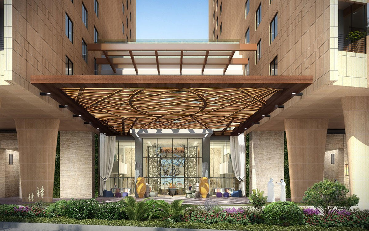 Andaz-Dubai-The-Palm-Entrance