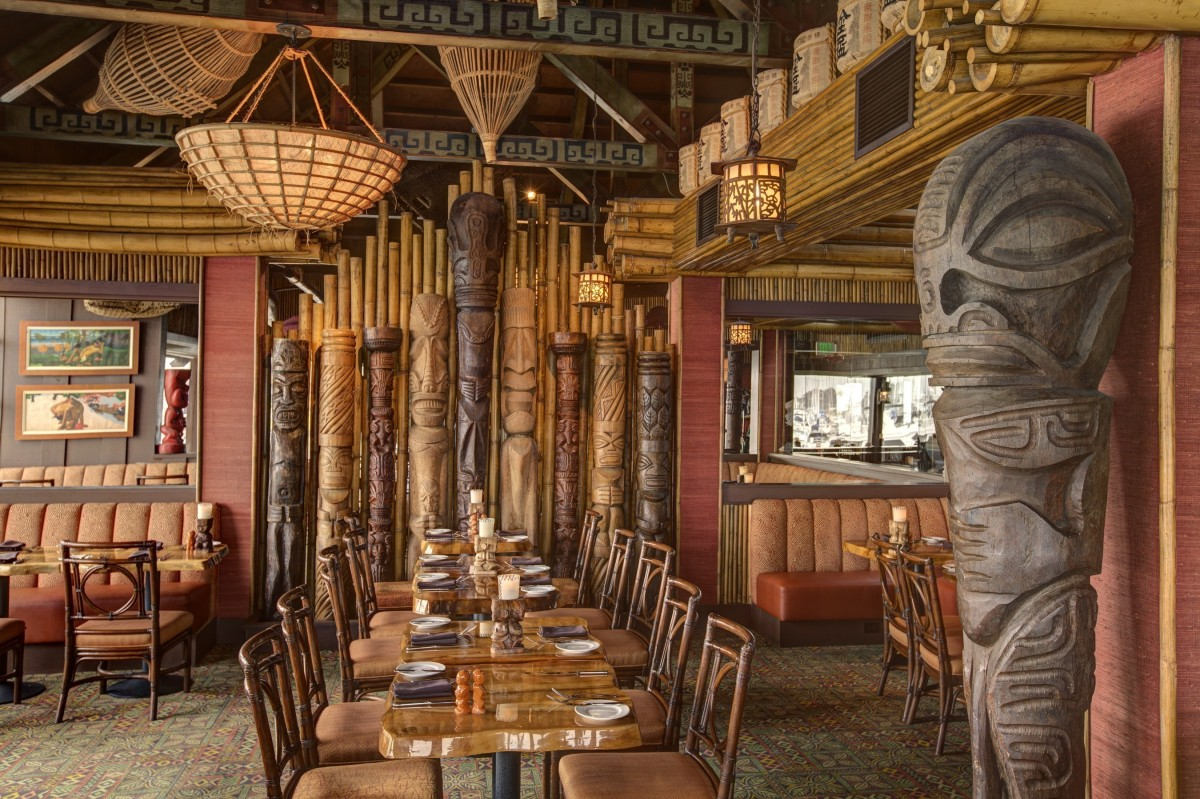 Trader Vic's flagship location in Emeryville, California and Home of the Original Mai Tai?. (PRNewsFoto/Trader Vic's)
